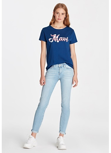Mavi Jean Pantolon | Ada - Boyfriend İndigo